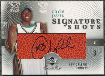 2005/06 Sweet Shot #CP Chris Paul Signature Shots Rookie Auto