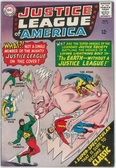 Justice League of America  #37   FN/VF