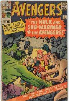 Avengers #3  GD+ (see long desciption)
