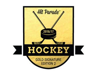 2016/17 Hit Parade Hockey Gold Signature Edition Series 2 - 10 Box Case