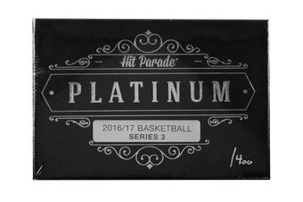 2016/17 Hit Parade Basketball Platinum Signature Edition Series 3 Box