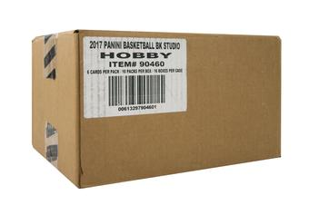 2016/17 Panini Studio Basketball Hobby 16-Box Case