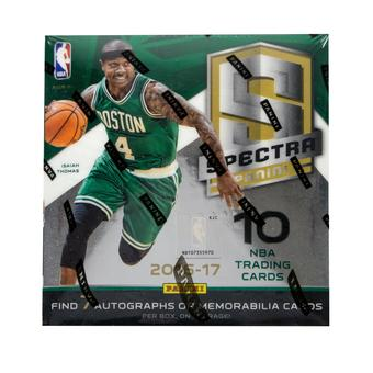2016/17 Panini Spectra Basketball 6-Box Case- 2017 National DACW Live 30 Spot Random Team Break #2