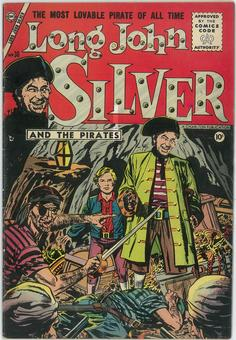Long John Silver and The Pirates  #30  VF