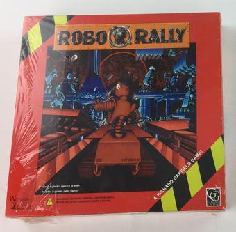 Robo Rally Original (Wizards of the Coast, Richard Garfield Games)