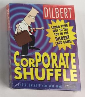 Dilbert Corporate Shuffle Card Game (Wizards of the Coast)