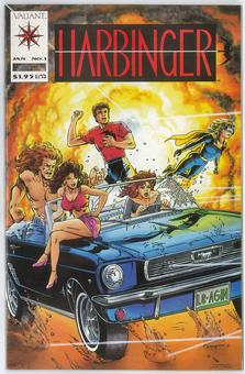 Harbinger #1  NM-