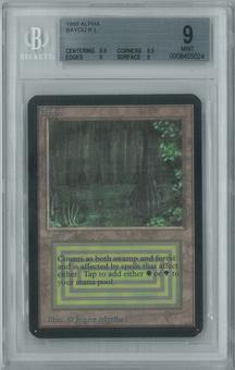 Magic the Gathering Alpha Single Bayou BGS 9 (8.5, 9.5, 9, 9)