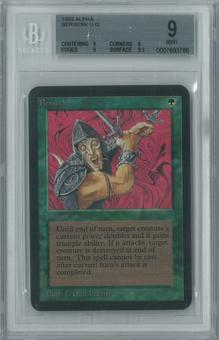 Magic the Gathering Alpha Single Berserk BGS 9 (9, 9, 9, 9.5)