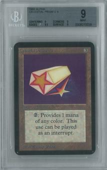 Magic the Gathering Alpha Single Celestial Prism BGS 9 (9, 9, 9.5, 9)
