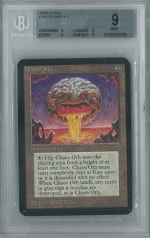 Magic the Gathering Alpha Single Chaos Orb BGS 9 (9, 9, 9, 9)