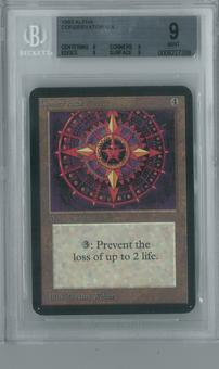 Magic the Gathering Alpha Single Conservator BGS 9 (9, 9, 9, 9)