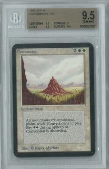 Magic the Gathering Alpha Single Conversion BGS 9.5 (9, 9.5, 9.5, 9.5)