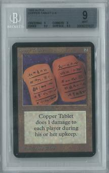 Magic the Gathering Alpha Single Copper Tablet BGS 9 (9, 9, 9.5, 9.5)