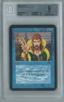 Magic the Gathering Alpha Single Counterspell BGS 9 (8.5, 9, 9, 9.5)