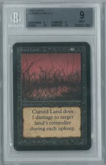 Magic the Gathering Alpha Single Cursed Land BGS 9 (9, 9, 8.5, 9.5)