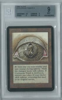 Magic the Gathering Alpha Single Cyclopean Tomb BGS 9 (9, 8.5, 9, 9)