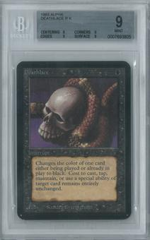 Magic the Gathering Alpha Single Deathlace BGS 9 (9, 9, 9, 9)
