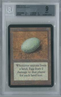 Magic the Gathering Alpha Single Dingus Egg BGS 9 (9, 8.5, 9, 9.5)
