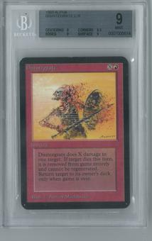 Magic the Gathering Alpha Single Disintegrate BGS 9 (8.5, 9, 9, 9)