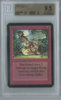 Magic the Gathering Alpha Single Earthbind BGS 9.5 (9.5, 9.5, 9.5, 9.5)