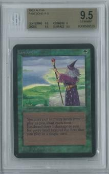 Magic the Gathering Alpha Single Fastbond BGS 9.5 (9, 9.5, 9.5, 9.5)