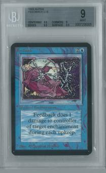 Magic the Gathering Alpha Single Feedback BGS 9 (9, 8.5, 9.5, 9.5)