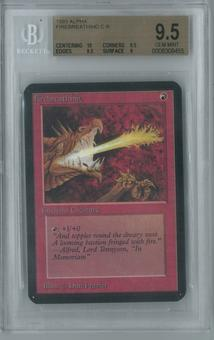 Magic the Gathering Alpha Single Firebreathing BGS 9.5 (9.5, 10, 9.5, 9)