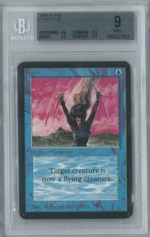 Magic the Gathering Alpha Single Flight BGS 9 (8.5, 9.5, 9.5, 9.5)