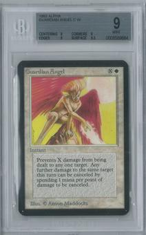 Magic the Gathering Alpha Single Guardian Angel BGS 9 (9, 9, 9, 9.5)