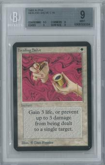 Magic the Gathering Alpha Single Healing Salve BGS 9 (9, 9.5, 9, 9)