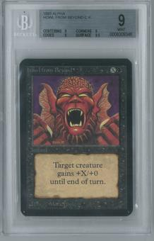 Magic the Gathering Alpha Single Howl from Beyond BGS 9 (9, 9, 9, 9.5)