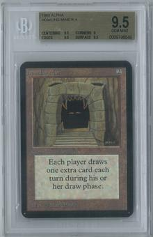 Magic the Gathering Alpha Single Howling Mine BGS 9.5 (9.5, 9, 9.5, 9.5)