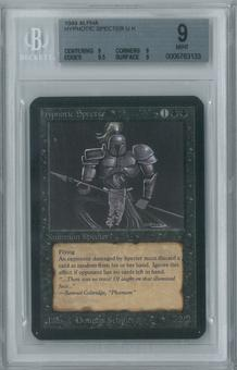 Magic the Gathering Alpha Single Hypnotic Specter BGS 9 (9, 9, 9.5, 9)