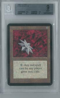 Magic the Gathering Alpha Single Iron Star BGS 9 (8.5, 9.5, 9, 9)