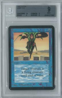 Magic the Gathering Alpha Single Jump BGS 9 (9, 10, 9, 9)