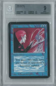 Magic the Gathering Alpha Single Lifetap BGS 9 (8.5, 9.5, 9.5, 9.5)
