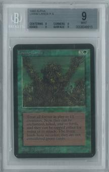 Magic the Gathering Alpha Single Living Lands BGS 9 (9, 9, 9, 9)