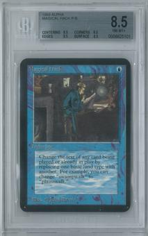 Magic the Gathering Alpha Single Magical Hack BGS 8.5 (8.5, 8.5, 9.5, 8.5)