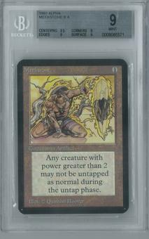 Magic the Gathering Alpha Single Meekstone BGS 9 (9, 9.5, 9, 9)