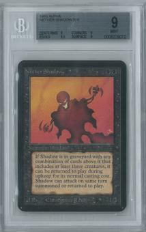 Magic the Gathering Alpha Single Nether Shadow BGS 9 (9, 9, 9.5, 9)