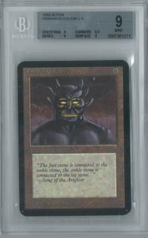 Magic the Gathering Alpha Single Obsianus Golem BGS 9 (8.5, 9, 9, 9)