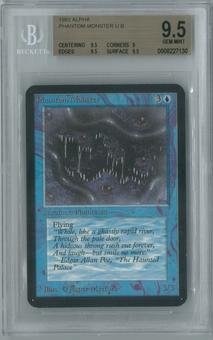 Magic the Gathering Alpha Single Phantom Monster BGS 9.5 (9, 9.5, 9.5, 9.5)
