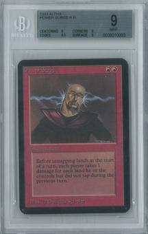 Magic the Gathering Alpha Single Power Surge BGS 9 (9, 9, 9.5, 9)