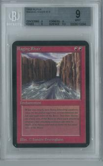 Magic the Gathering Alpha Single Raging River BGS 9 (9, 9, 9, 9.5)