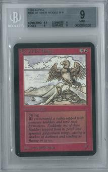 Magic the Gathering Alpha Single Roc of Kher Ridges BGS 9 (9, 9.5, 9, 9)