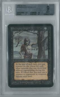 Magic the Gathering Alpha Single Scavenging Ghoul BGS 9 (8.5, 9.5, 9, 9.5)