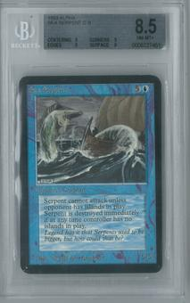 Magic the Gathering Alpha Single Sea Serpent BGS 8.5 (9, 9, 9, 8)