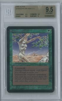 Magic the Gathering Alpha Single Shanodin Dryads BGS 9.5 (9.5, 9.5, 9.5, 9)