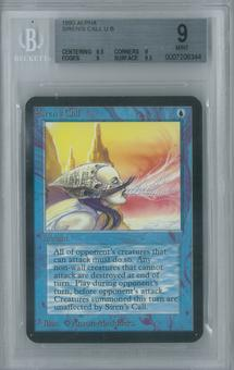 Magic the Gathering Alpha Single Siren's Call BGS 9 (9, 8.5, 9, 9.5)